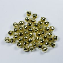 Pack of 10 12mm Gold Jingle Bells